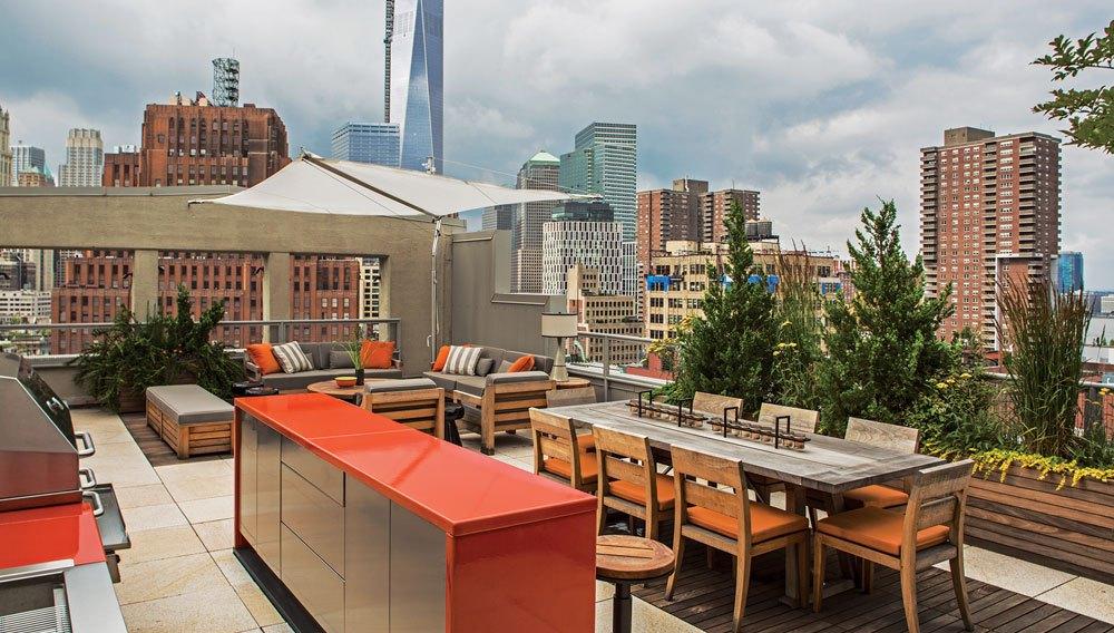 Roof Deck Design in New York City