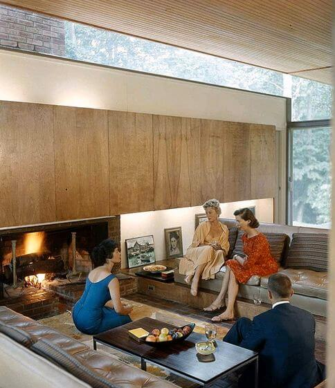 most popular home styles in the U.S. -Midcentury Modern